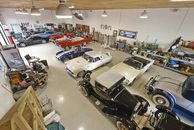 Car Collectors Dream Home with 18 Car Garage in Ho...