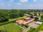 Exceptional custom-built Ranch with 12 Car Capacit...