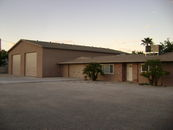 4,500 square foot Garage with Shop and a 1,750 s.f...