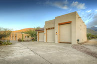 Custom Southwestern Contemporary Home with Garaged...