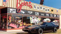 George Barris Famous Custom Car Shop in North Holl...