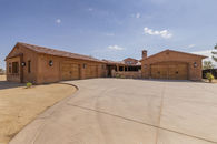 Calif Desert Estate Home with Two Large Garages, 6...